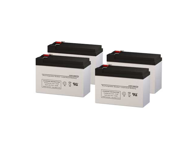 CyberPower OP2200 UPS Replacement Batteries - Pack of 4