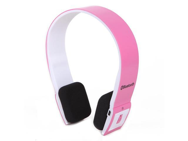 Slim Wireless Bluetooth Stereo Headset - Pink