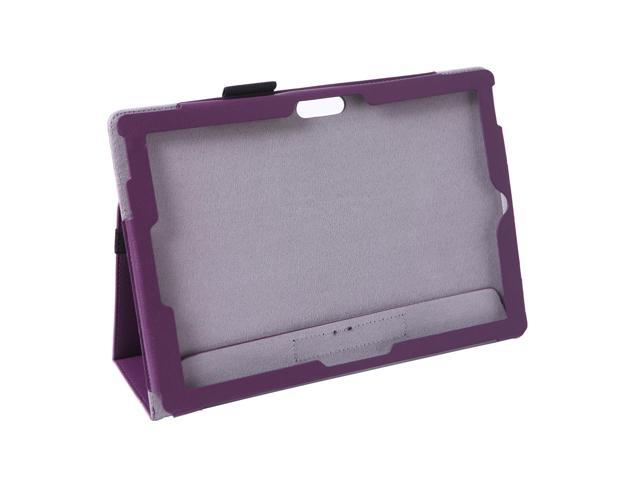 Professional Slim Profile Leather Folio Case for Microsoft Surface Pro 3 12