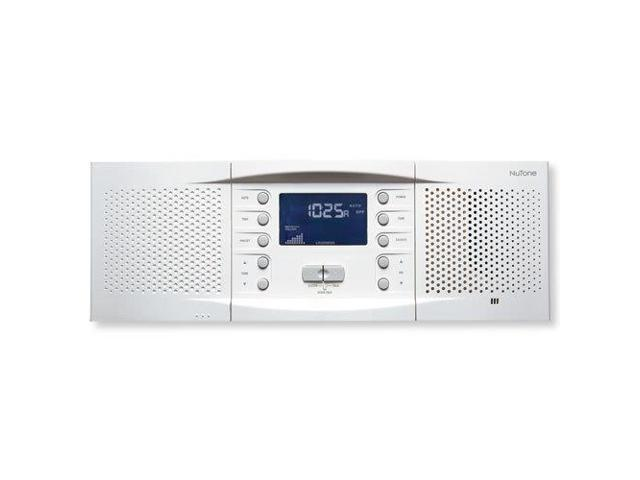 NuTone NM100 Music & Intercom System Master Station (NM100WH)