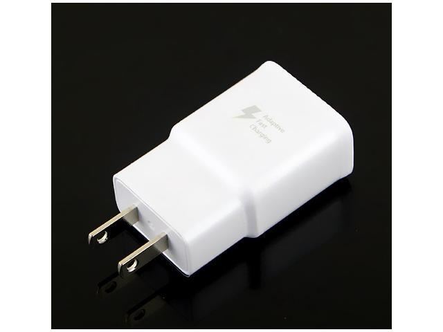 Mint Original OEM Samsung Galaxy Note 4 Home / Wall Travel Charger Adapter Only / Adaptive Fast Charging EP-TA20JWE - White