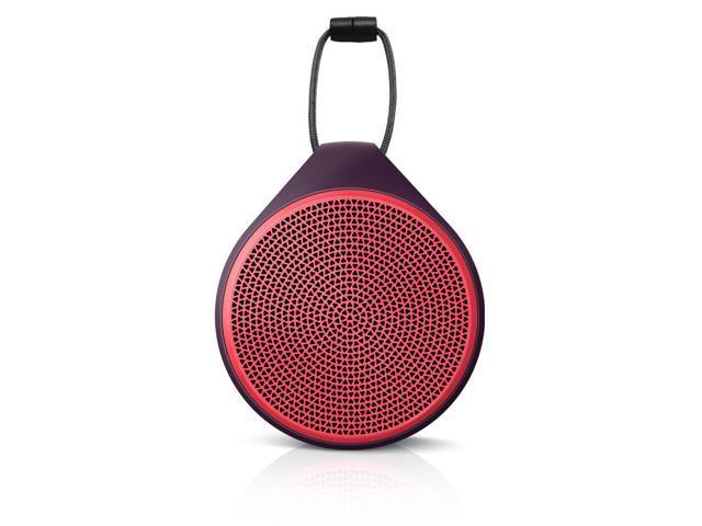 New Original OEM Logitech X100 Mobile Wireless Speaker Red/Purple For iPhone 5 5S 5C 6 Plus Samsung Galaxy S 3 4 5 Note 1 2 ...