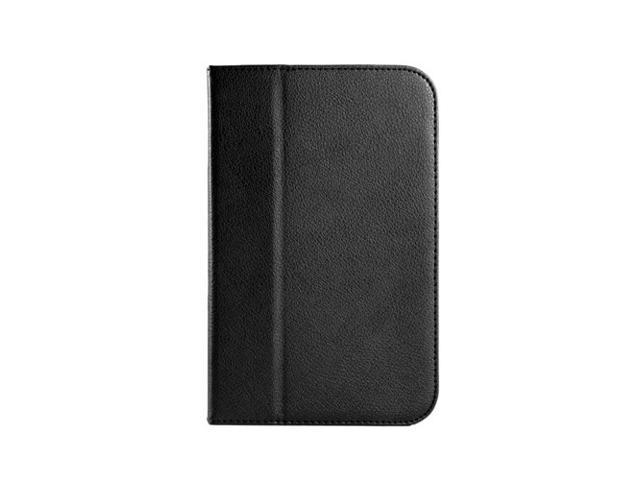 Slim Fit Folio Case for Barnes & Noble Nook HD 7 Tablet (Support Auto Sleep/Wake Function) - Black