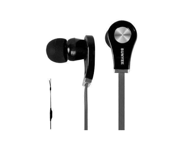 SUNYEE (black) New Earphones Headsets headphones with Remote, Mic-phone Fit For iPhone 5S 5C 5 4S 4 IPOD IPAD4 IPAD air ipad mini; Ipod ...