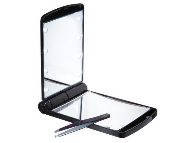 Mirror Mirror ( Compact Mirror with tweezers) Mirror Mirror brings light to your complexion, even in the dark. This elegant compact mirror is ...