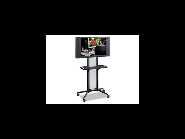 Impromptu Flat Panel TV Cart, 38w x 20d x 65-1/2h, Black