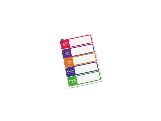 Printable Flexible Name Badge Labels, 1 X 3-3/4,