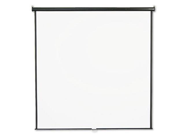 Wall or Ceiling Projection Screen, 84 x 84, White Matte, Black Matte C