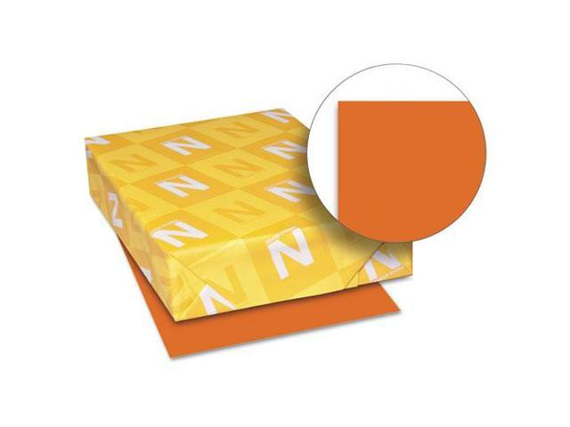 Astrobrights Colored Paper, 24Lb, 8-1/2 X 11, Orbit Orange, 500 Sheets