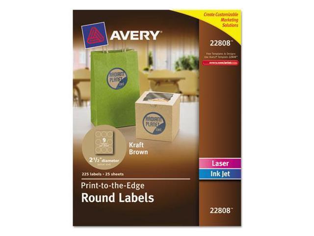 Round Easy Peel Labels, 2-1/2