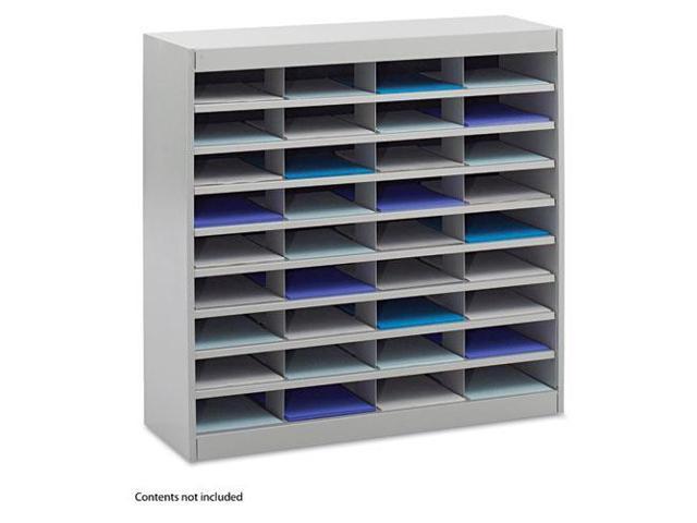 Steel/Fiberboard E-Z Stor Sorter, 36 Sections, 37 1/2 X 12 3/4 X 36 1/