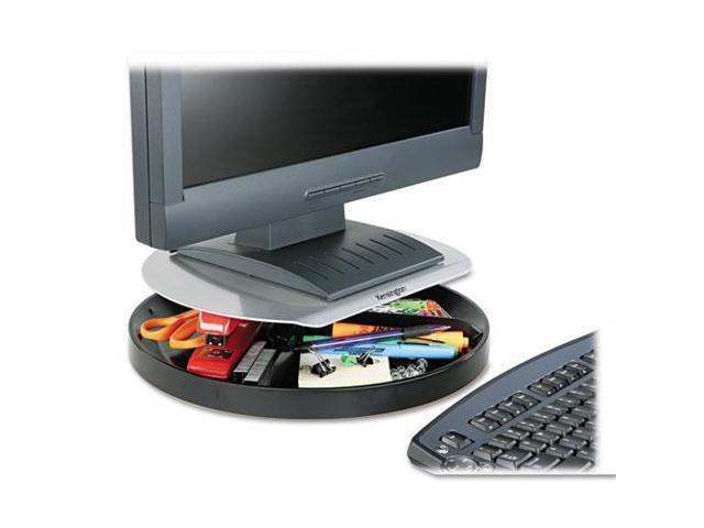 Spin2 Monitor Stand, 14 X 14 X 3 1/4, Black
