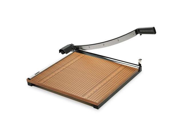 Wood Base Guillotine Trimmer, 15 Sheets, Wood Base, 18