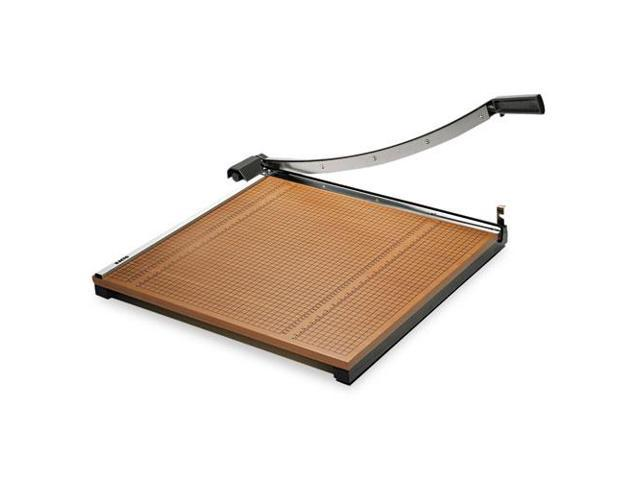 Wood Base Guillotine Trimmer, 20 Sheets, Wood Base, 24