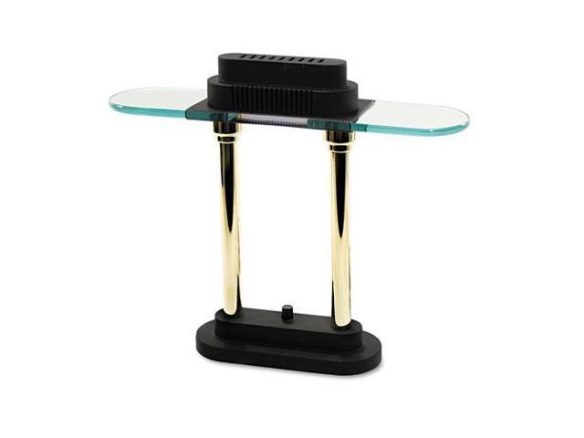 Halogen Desk Lamp, Glass Shade, 15