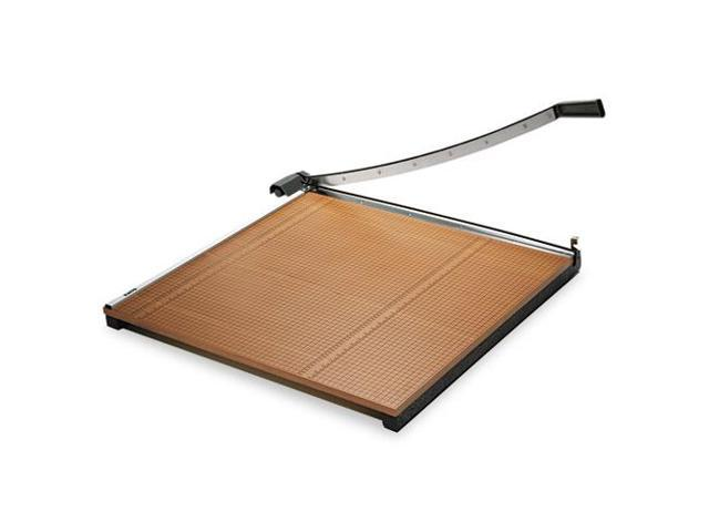 Wood Base Guillotine Trimmer, 20 Sheets, Wood Base, 30