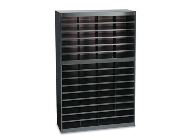 Steel/Fiberboard E-Z Stor Sorter, 60 Sections, 37 1/2 x 12 3/4 x 60, B