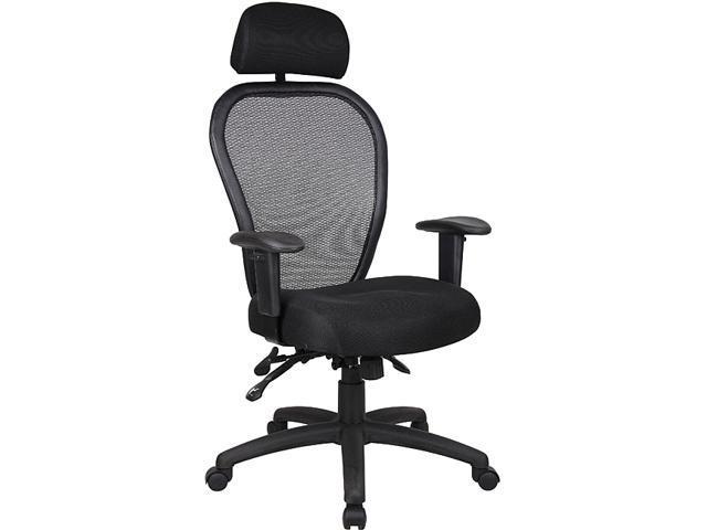 Ergonomic Boss Mesh Task Chair with Headrest