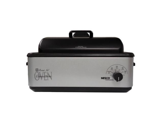 Nesco 4842-47 Professional Roast Air Silver 12-quart Convection Roaster Oven
