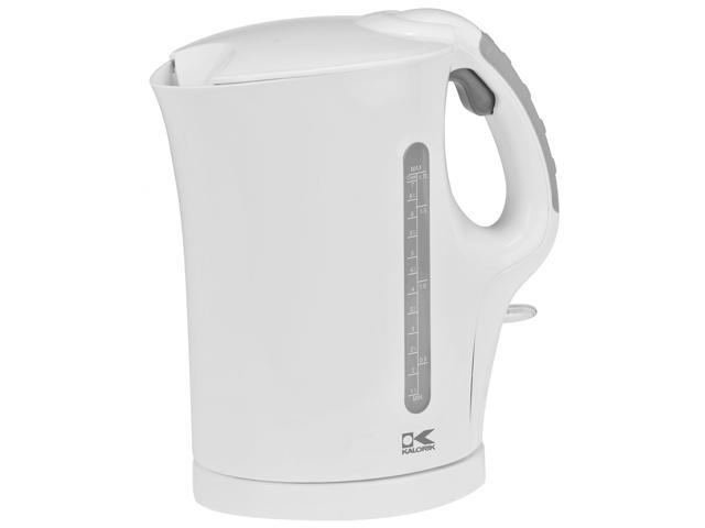 Kalorik White 1.75-quart Cordless Electric Water Kettle