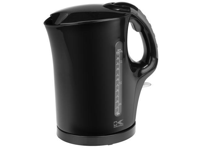 Kalorik Black 1.75-quart Cordless Electric Water Kettle