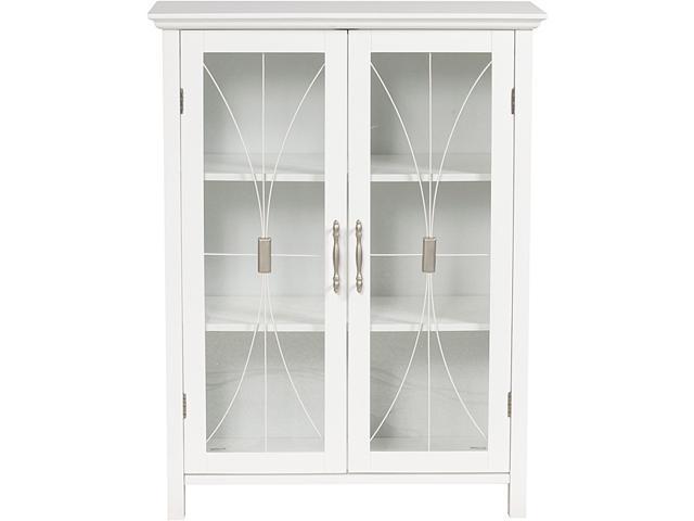 Veranda Bay White Floor Cabinet