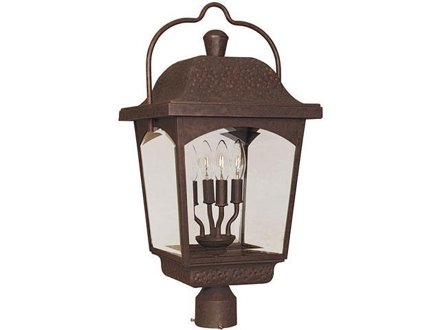 World Imports Ayrs Outdoor Collection 4-light Post Lantern