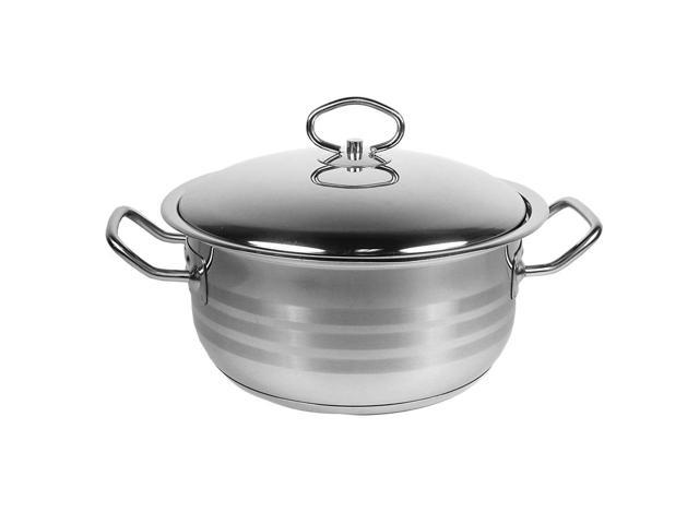 Prestige 18/10 Stainless Steel 32-qt. Dutch Oven with Lid