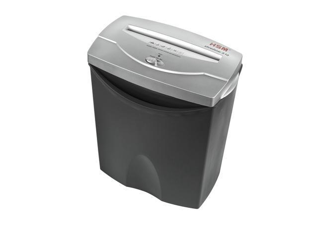 HSM Shredstar S10 10-sheet Strip-cut Shredder with 4.3-gallon Waste Container