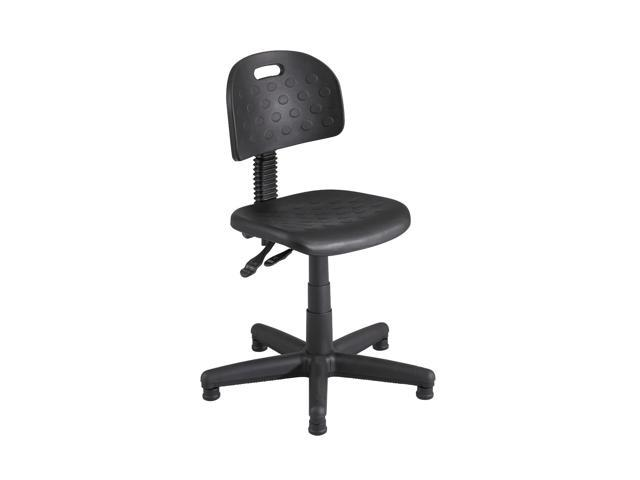 Safco Desk Height Black Chair