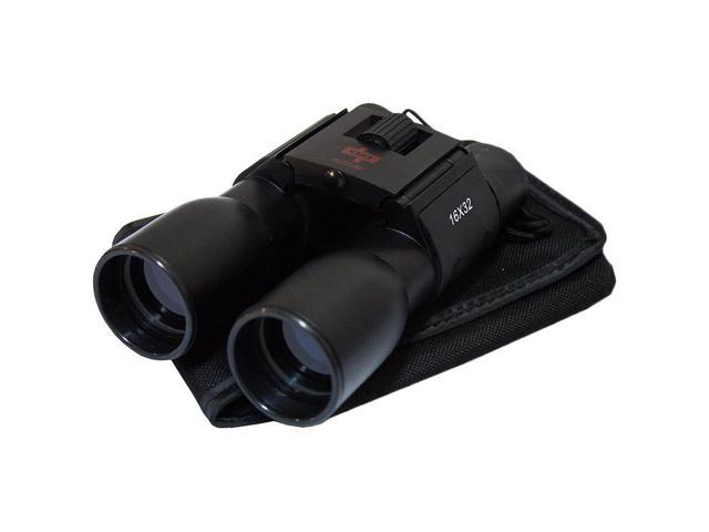 Defender Blue Coated 16X32 Black Plastic Binocular