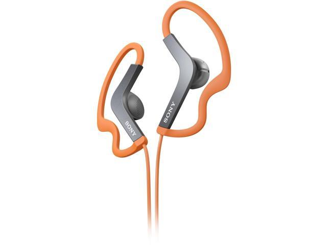 Sony Stereo Headphones; Orange