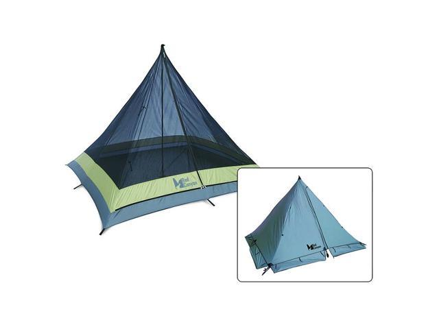 Pingora Single-Pole 4-season 4-man Tent