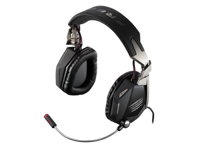 Mad Catz F.R.E.Q. 7 Surround Sound Gaming Headset for PC - Matte Blac
