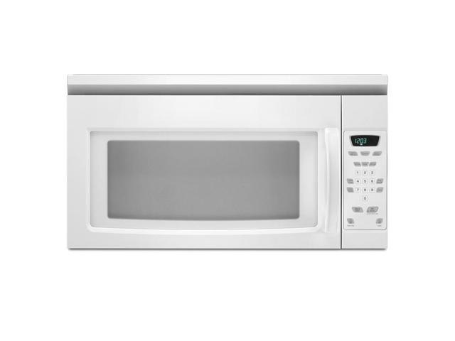Amana White Over-the-Range 1.5 Cubic Feet Microwave Oven