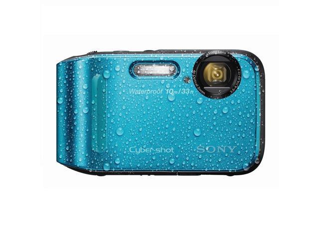 Sony Cyber Shot DSC-TF1 Waterproof 16.1MP Blue Digital Camera
