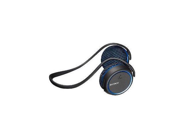 Sony MDR-AS700BT/L Blue Bluetooth Wireless Water Resistant Sport Headphones