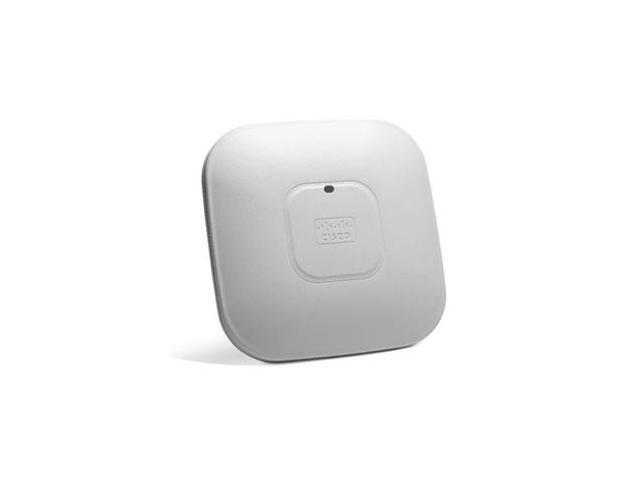 CISCO Aironet 2600 Series AIR-SAP2602I-A-K9 Dual-band autonomous Wireless Access Point - AC adapter is not included.
