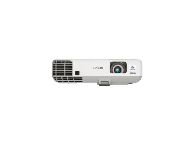 Epson PowerLite 935W 1280x800 WXGA 3700 ANSI Lumens, iProjection capability, RJ-45 (LAN Control/Display), HDMI / USB / VGA Inputs, 1.6x Optical ...