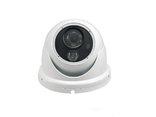 CCTV Metal Shell 1/3 Sony CCD 750 TVL 6.0mm Lens 850nm One Led Array IR Waterproof Dome Camera