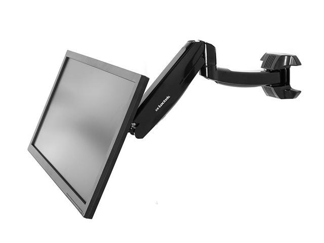 Display TV LCD Monitor Arm Swivel Tilt Wall Mount for 10-Inch to 37-Inch Flat Screen VESA Standard up to 200 x 200mm