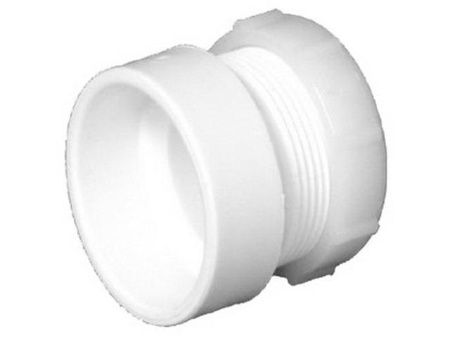 Charlotte 104P White PVC Trap Female Adapter, 1-1/2