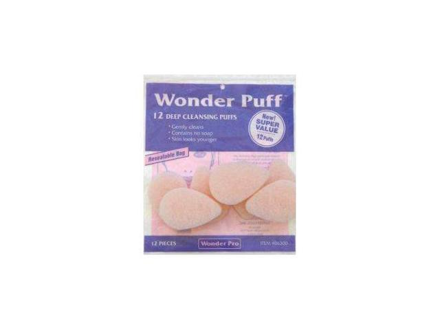 Wonder Puff Deep Cleansing Puffs #06300 12 Count - Super Value