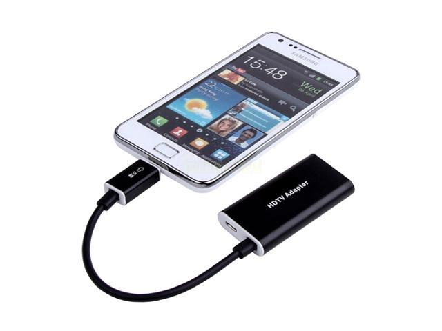 Aluminum Micro USB MHL to HDMI Cable Adapter For Samsung Galaxy Note 2 N7100