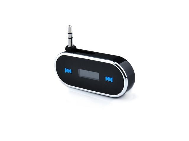 Wireless 3.5mm In-car FM Transmitter Handfree LCD Display Car Radio Adapter for Apple iPhone 5S 5C 5 5G 4S 4 3S 3G iPad 2 3 ...