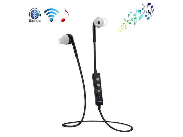 Black Wireless Sweat-proof Bluetooth 4.0 A2DP Stereo Headset Sport Earphone Headphone With Mic for Apple iPhone 4S 5 5G 5S 5C iPod Touch iPad 2 ...