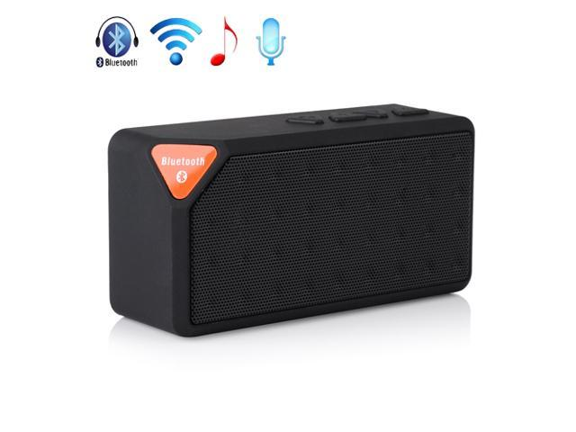 Black Mini Wireless Bluetooth A2DP Stereo Speaker Handsfree USB Battery Powered TF/USB Speakers For Samsung Galaxy S5 S4 S3 Note 2 3 HTC One M8 ...