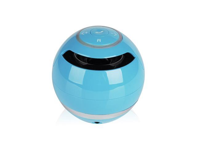 Blue Portable Wireless Stereo Bluetooth Super Bass Handsfree Speaker Speakers with 3.5mm Jack Support USB TF SD For Samsung Galaxy S5 S4 S3 Note ...