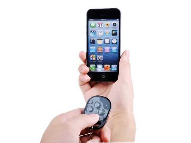 Bluetooth Remote Camera Control Self-timer Release Shutter for Apple iPhone 5S 5C 5 4S 4 Samsung Galaxy S4 S3 Note 3 2 Smartphones and Tablet ...