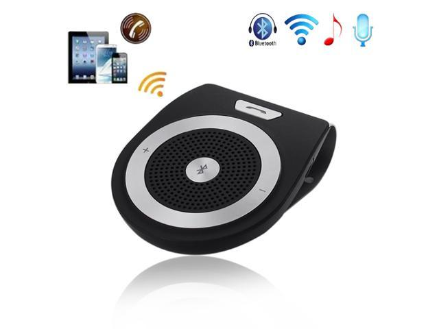 Bluetooth 3.0 Handsfree Car Kit In-car Speakerphone Speaker with Visor Clip & DSP Crystal Clear Sound and Voice for Samsung Galaxy S5 S4 S3 Note ...
